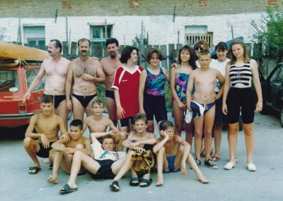 Ekipa na takmičenju 1991