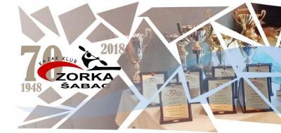 Kajak klub Zorka Šabac 70 godina