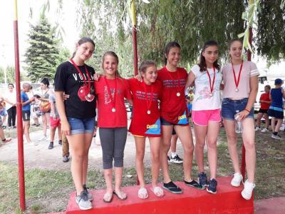 3. mesto MK-2 500 m devojčice 2006.