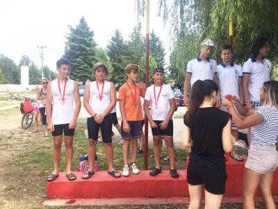2. mesto MK-4 500 m dečaci 2006/2007.